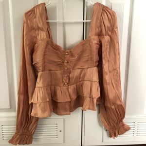 Copper top from Nasty Gal